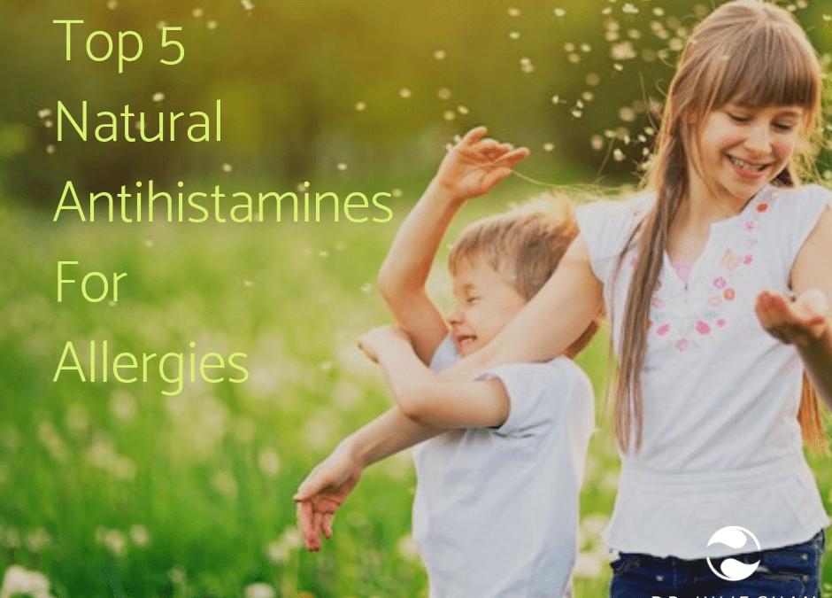 Top 5 Natural Antihistamines for Allergies